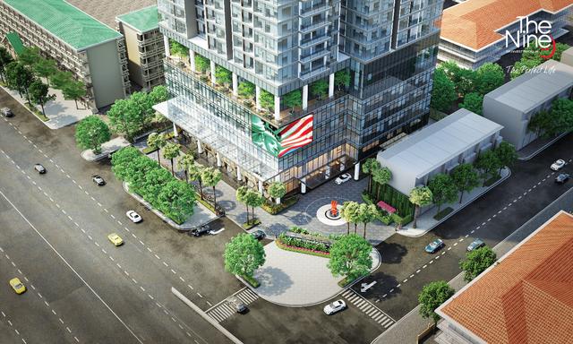 Hình ảnh Dự án The Nine, nằm tại Góc đường số 9 Phạm Văn Đồng và Doãn Kế Thiện
