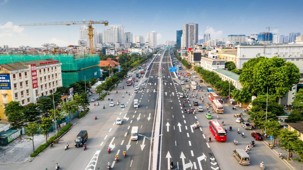 Đường Phạm Văn Đồng mở rộng nút giao Mai Dịch khánh thành 10.10.2020